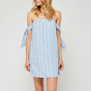 NWT Gentle Fawn off shoulder mini dress